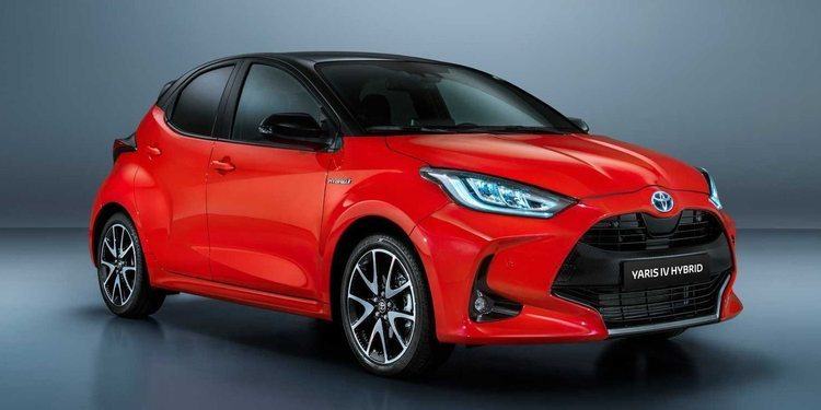 Conozcamos al hermoso Toyota Yaris Hybrid 2020