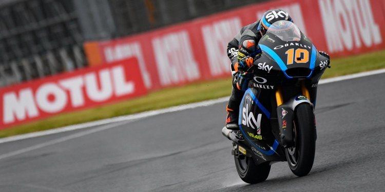 Luca Marini se lleva la pole con condiciones mixtas en Motegi