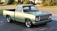 Evolución de la pickup Dodge 100 a través del tiempo