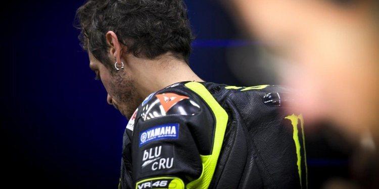"""Valentino Rossi: """"Soy el que más sufre de Yamaha"""""""