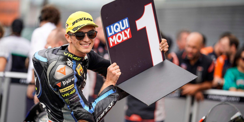"""Luca Marini: """"He preferido controlar los neumáticos al principio"""""""