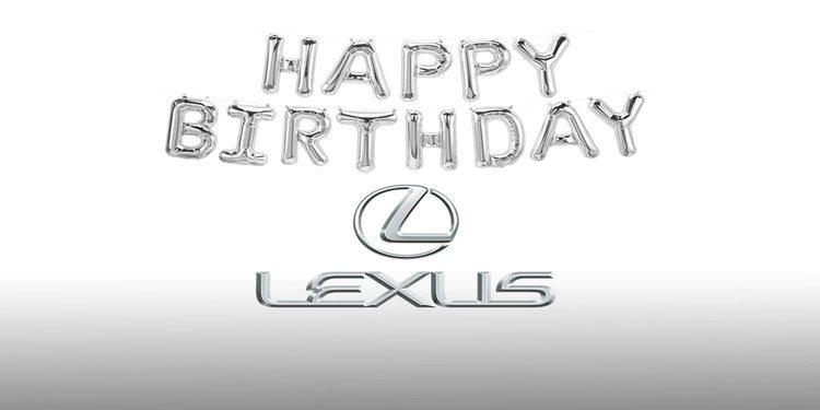 La marca de lujo de Toyota, Lexus, está cumpliendo 30 años de vida