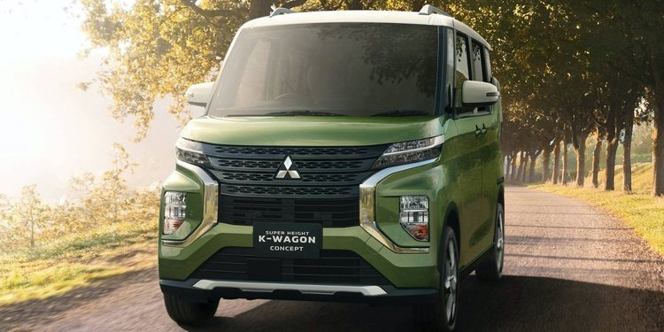 Mitsubishi presenta el Super Height K-Wagon Concept