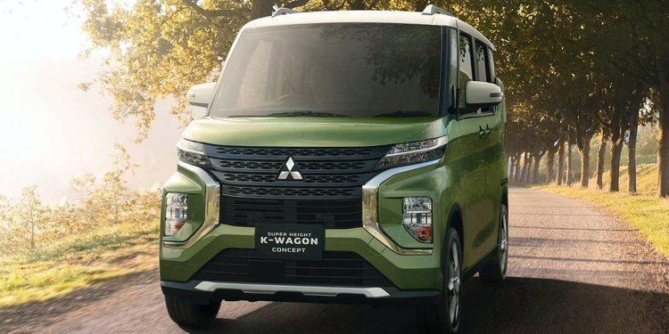 Mitsubishi presenta el Super Height K-Wagon Concept