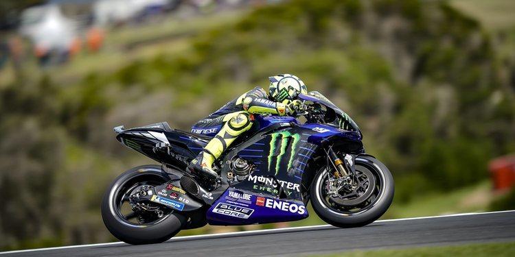 """Valentino Rossi: """"El viento era demasiado fuerte y las condiciones en pista muy peligrosas"""""""