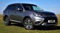 El Mitsubishi Outlander obtiene actualización 2020MY