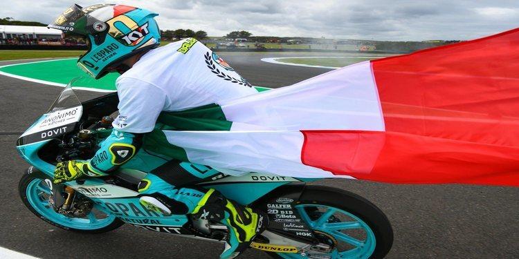 Lorenzo Dalla Porta, primer campeón italiano de Moto3