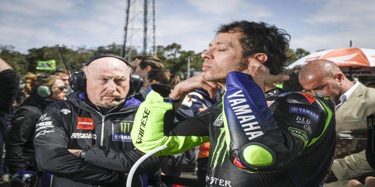 """Valentino Rossi: """"Hoy fui rápido en general, pero fuimos lentos en recta"""""""