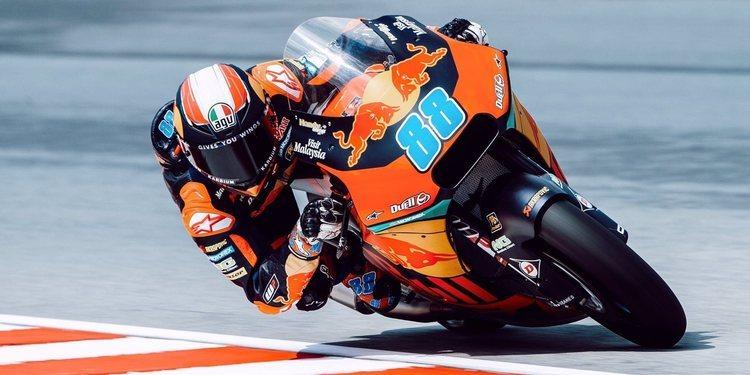 Jorge Martín comanda los libres de Moto2