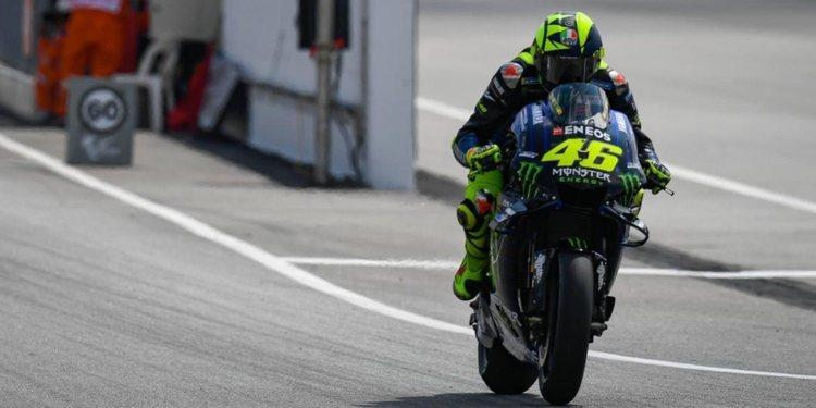 """Valentino Rossi: """"Si Márquez se encuentra bien, no creo que tarde mucho en llegar delante"""""""