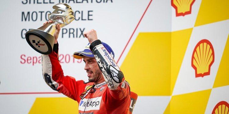 """Andrea Dovizioso: """"Desafortunadamente, en la carrera no tuve la misma sensación que tuve en la práctica"""""""