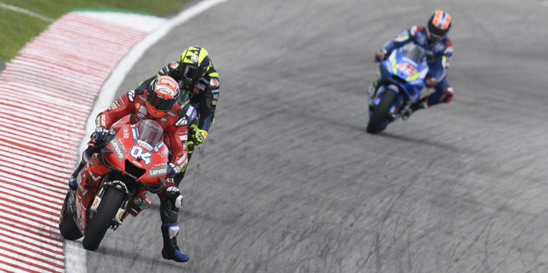 "Andrea Dovizioso: ""Rossi es agresivo, pero no hace estupideces"""