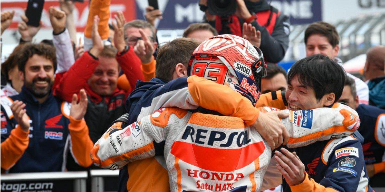"""Marc Márquez: """"Quiero seguir en Honda porque es mi familia"""""""