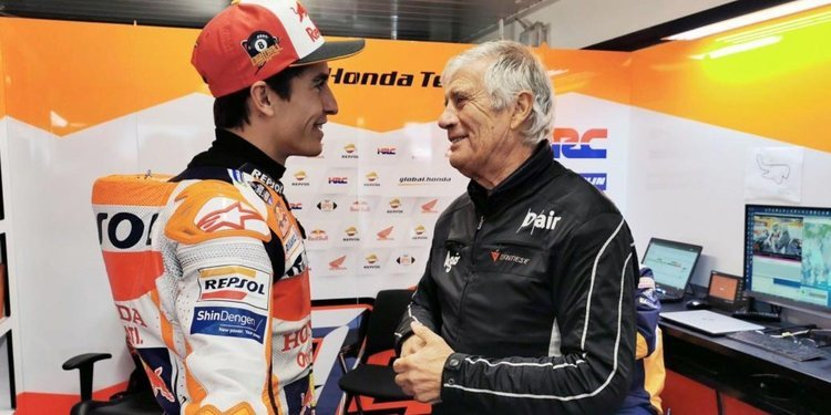 """Giacomo Agostini: """"Márquez tiene tiempo para superar mi récord"""""""