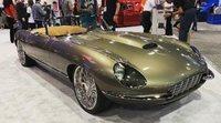Jaguar E-Type 1974 reconstruido