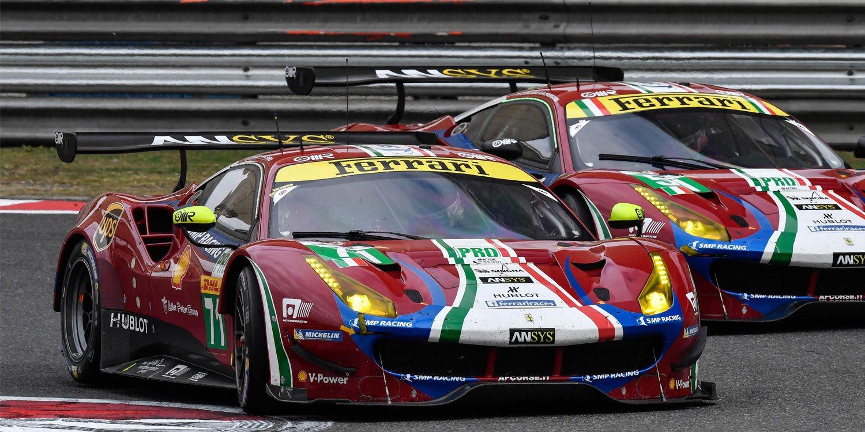 Ferrari descalificada de las 4H de Shanghai