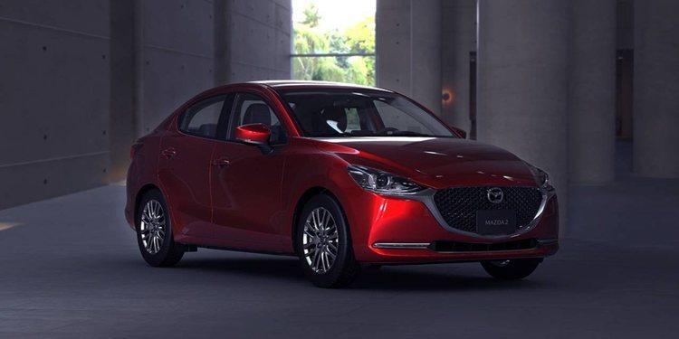 Mazda2 Sedan Facelift 2020