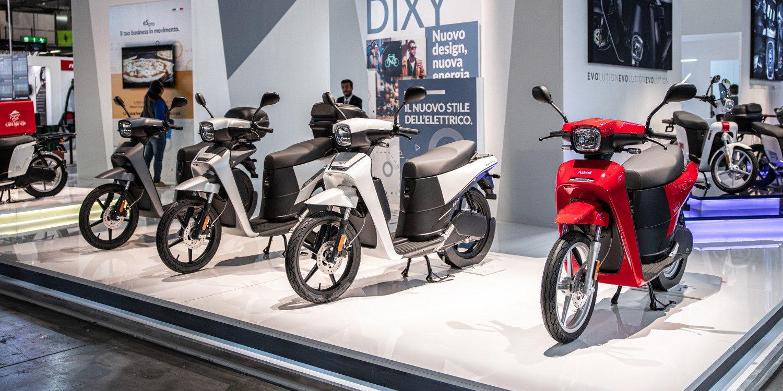 Askoll presenta su nueva gama de scooter eléctricos DIXY