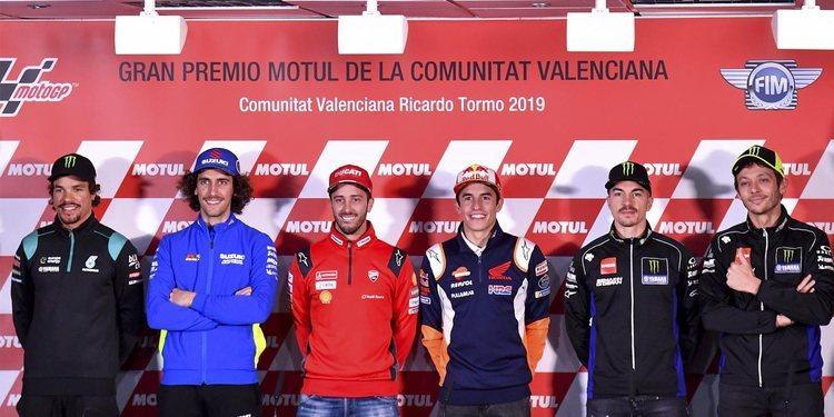 Rueda de prensa del GP de la Comunitat Valenciana 2019