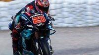 Fabio Quartararo lidera en los albores del Gran Premio valenciano