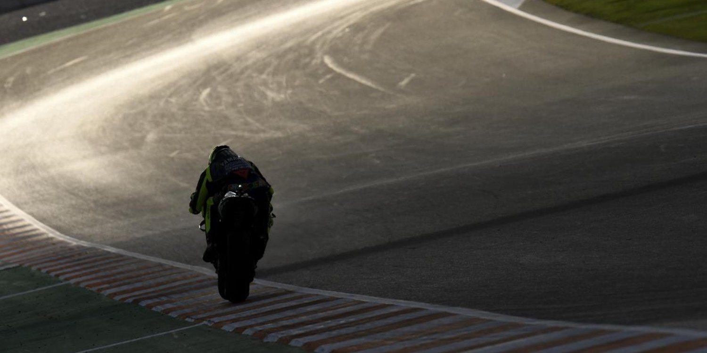 """Valentino Rossi: """"Antes de las caídas estaba siendo fuerte"""""""