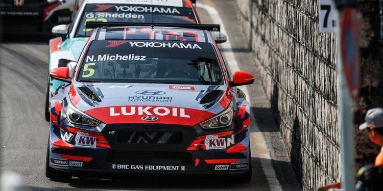 Norbert Michelisz contento con el podio y el liderato tras una mala segunda clasificación