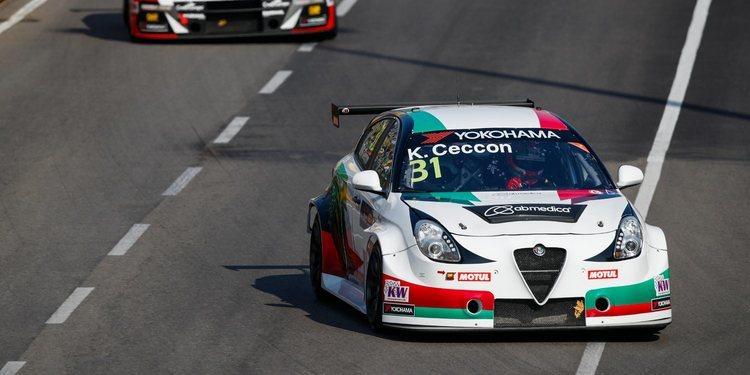 """Kevin Ceccon satisfecho por """"recuperar"""" en Macao el podio perdido en Japón tras una sanción"""