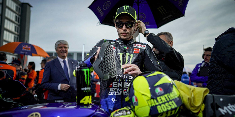 """Valentino Rossi: """"Fue un año difícil, pero se acabó"""""""