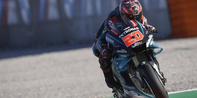 Yamaha certifica su dominio en el primer día de test de MotoGP