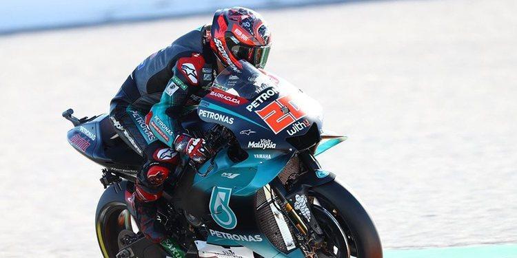 Fabio Quartararo sigue al frente en MotoGP en el segundo día de test