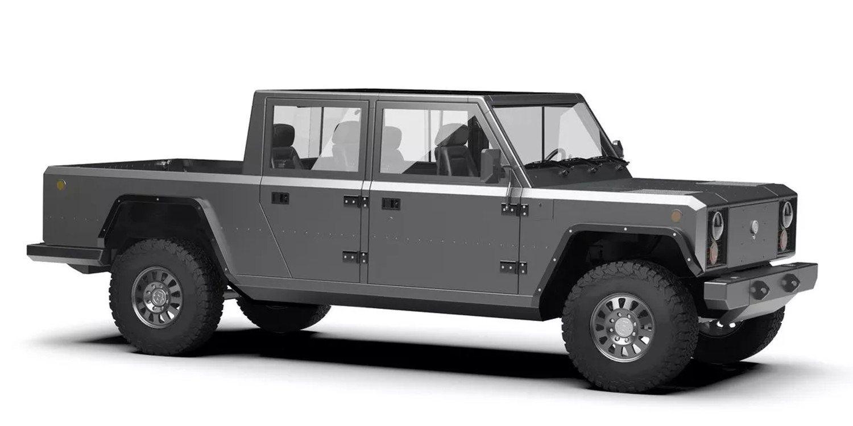 Bollinger Motors presenta vehículos todoterreno eléctricos