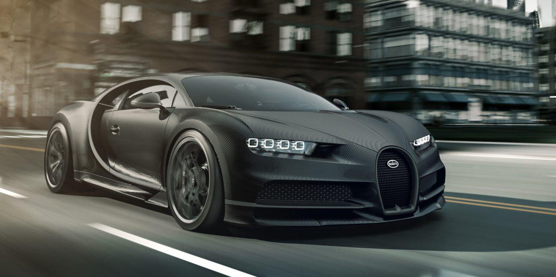 Bugatti Chiron Noire Duo