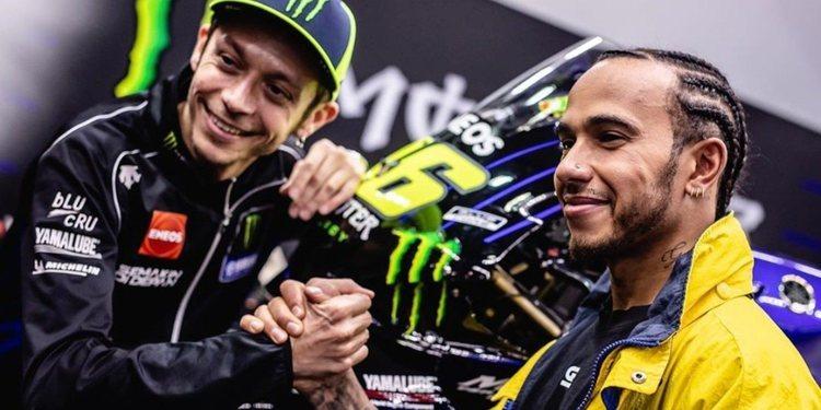 Hamilton y Rossi, el intercambio más esperado