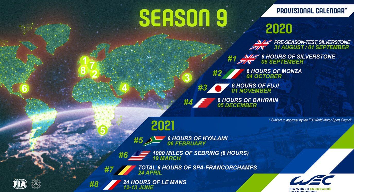 Calendario del WEC 2020 2021   Motor y Racing