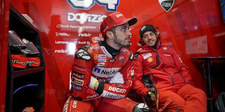 """Andrea Dovizioso: """"No se valoran mis subcampeonatos"""""""