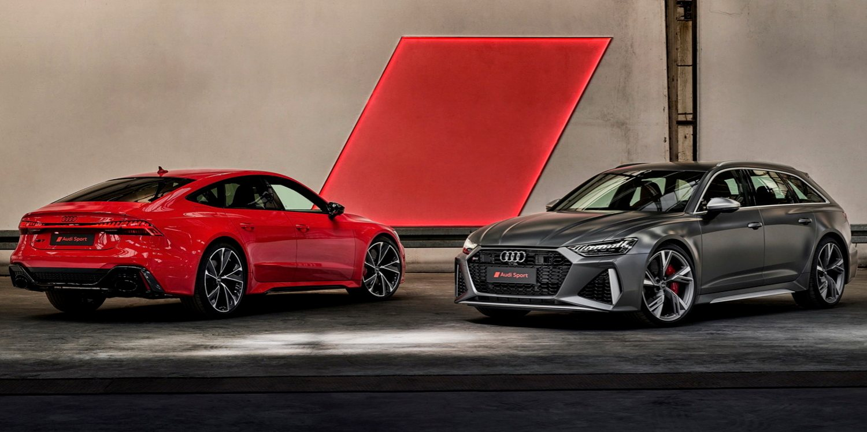 Nuevos Audi RS6 Avant y RS7 Sportback 2020