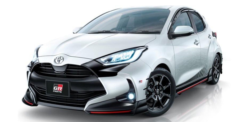 El Toyota Yaris vestirá dos trajes deportivos en Tokio