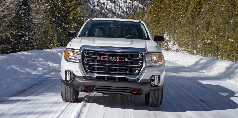 GMC lanza la nueva Canyon AT4 2021 y el acabado Denali