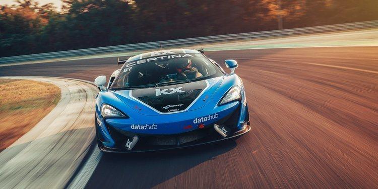 Los dos McLaren de GT Team los primeros coches en sumarse al DTM Trophy