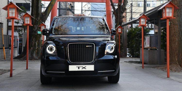 Llega a Japón el mítico taxi londinense