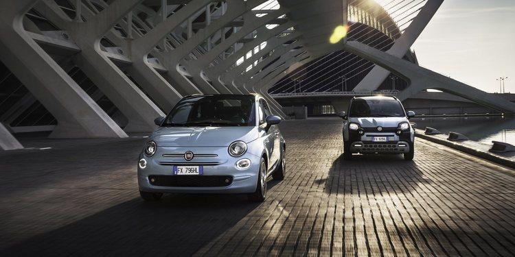 Los Fiat 500 y Panda Mild extrenan versión híbrida