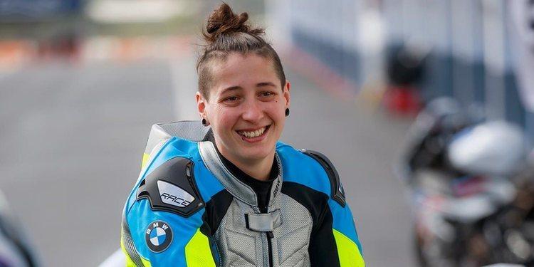 Lucy Glöckner, primera mujer que correrá en Superbike
