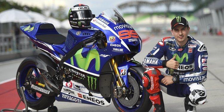 Jorge Lorenzo nuevo piloto probador de Yamaha Factory Racing