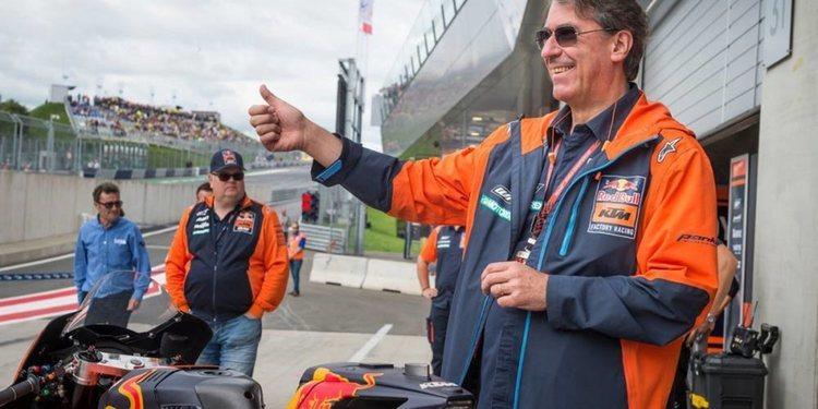 Stefan Pierer y el futuro de KTM
