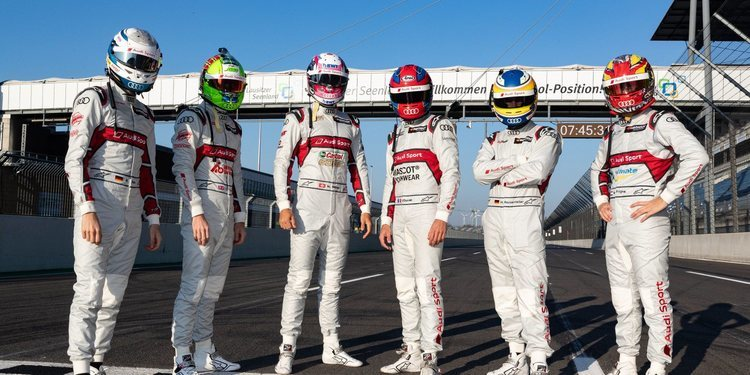 Audi Sport seguirá en 2020 con los mismos pilotos que en el 2019