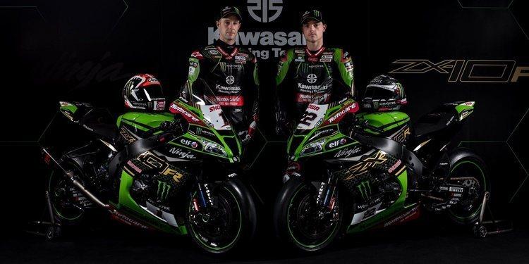 El Kawasaki Racing Team se viste de largo para 2020