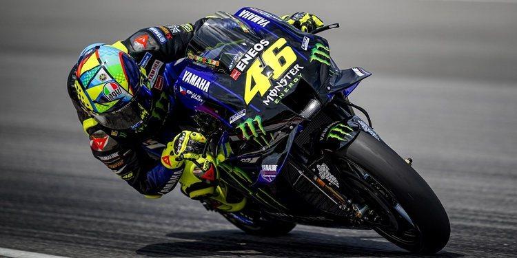 """Valentino Rossi: """"Fue un día difícil, especialmente debido a las condiciones climáticas"""""""