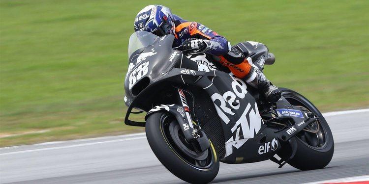 """Miguel Oliveira (KTM Tech3): """"Nuestra vuelta media es muy interesante"""""""