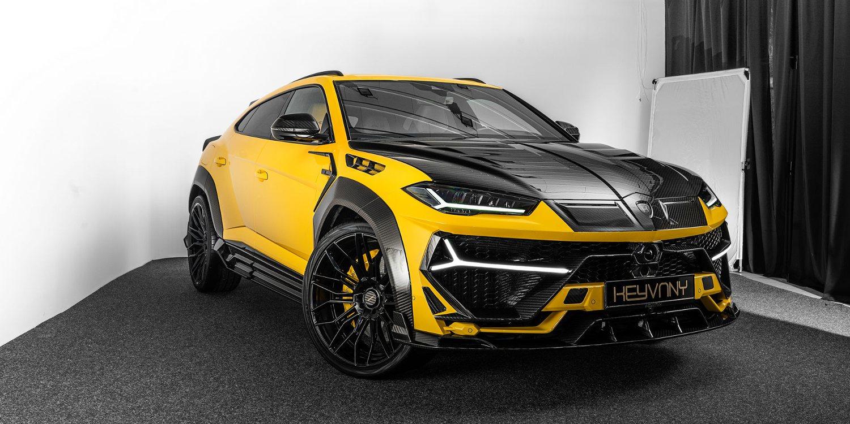 El Lamborghini Urus de Keyvany