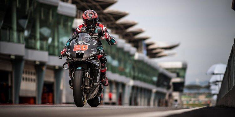 """Fabio Quartararo: """"Estamos trabajando de una manera realmente buena para mejorar la velocidad"""""""
